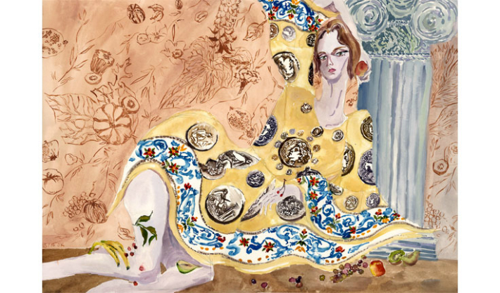 fashion-illustration-for-dolcegabbana-spring-summer-2014-by-jiiakuann-3