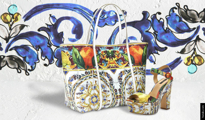 dolce-and-gabbana-fall-winter-2014-15-majolica-print-accessories-shopping-bag