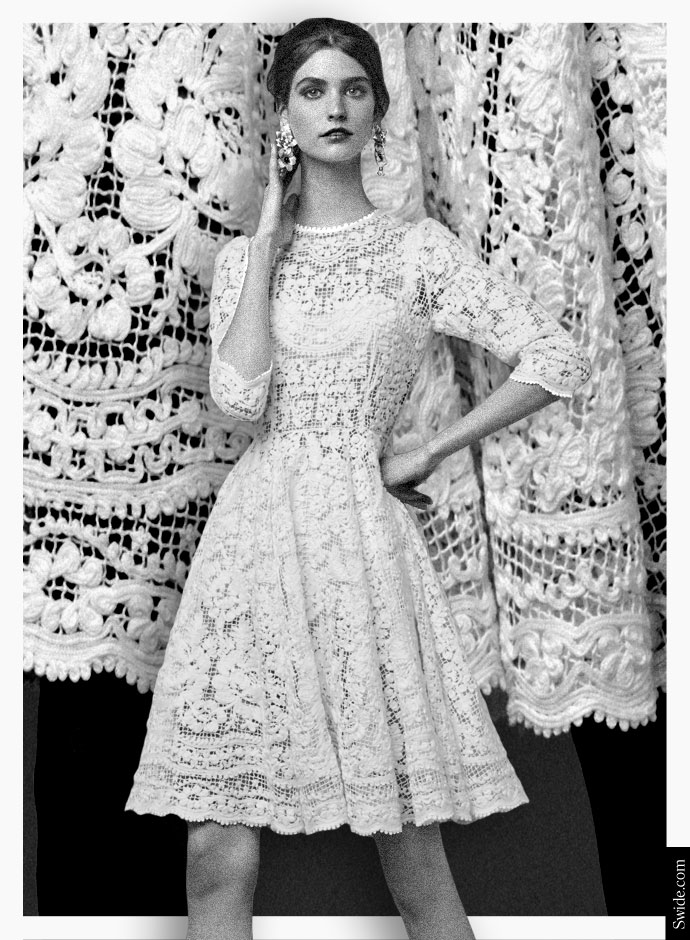 how-to-wear-white-dresses-3-outfits-from-the-dolce-and-gabbana-fall-winter-2014-15-collection-net-full-skirt-dress