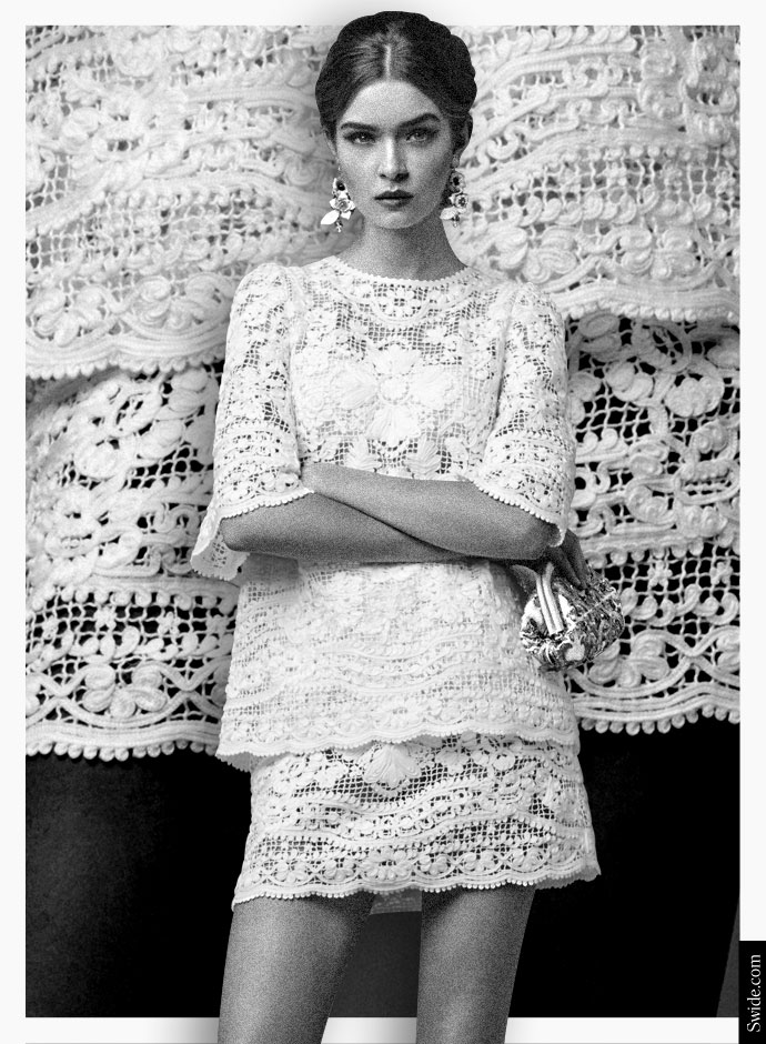 how-to-wear-white-dresses-3-outfits-from-the-dolce-and-gabbana-fall-winter-2014-15-collection-net-top-and-skirt