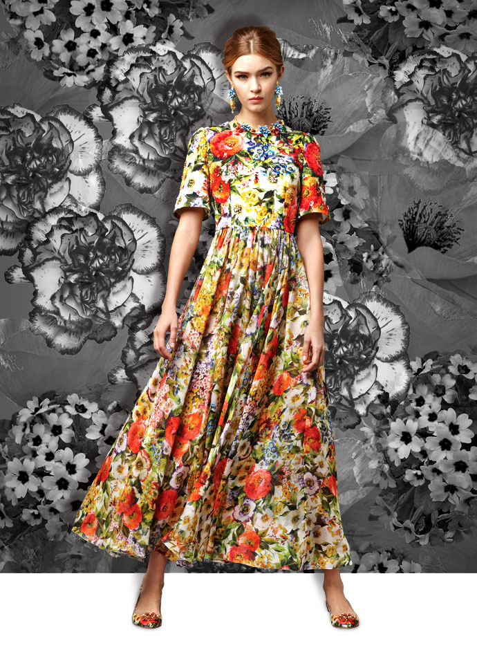 summer-party-looks-from-the-dolce-and-gabbana-fall-winter-2014-15-collection-floral-print-gown