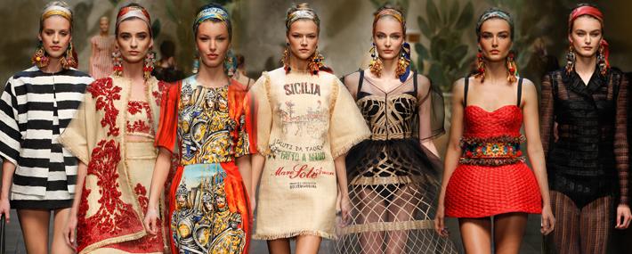Must Have: женская коллекция Dolce&Gabbana SS13