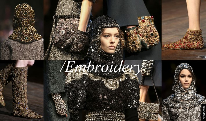 fall-winter-2014-2015-accessories-for-women-trends-dolce-and-gabbana-bags-shoes-must-buys-embroidery