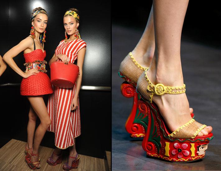 Женская коллекция Dolce&Gabbana SS13