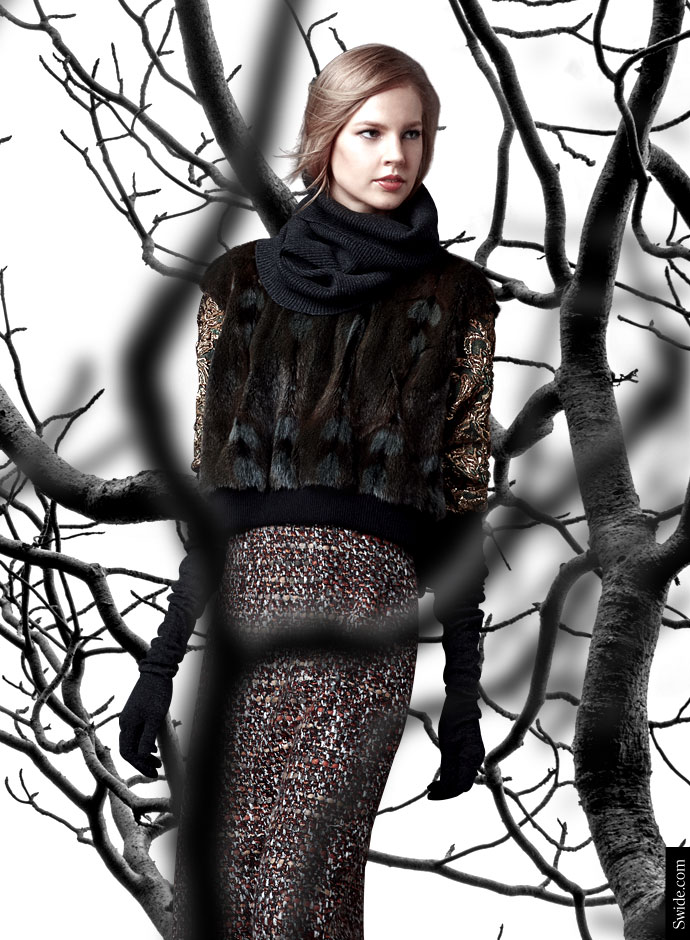 dolce-and-gabbana-fall-winter-2014-2015-brocade-and-fur-sweatshirts