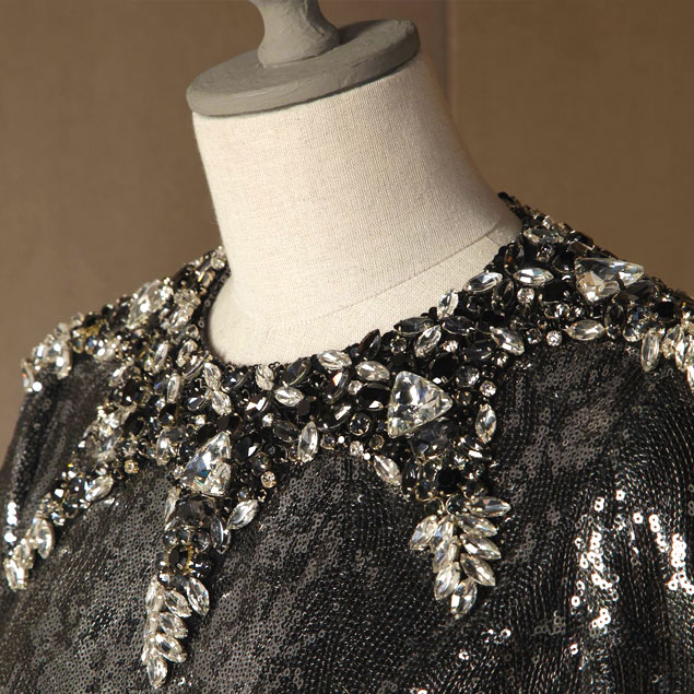 sparkling-holiday-party-looks-2014-crystal-and-sequined-dress-from-dolce-and-gabbana-fw