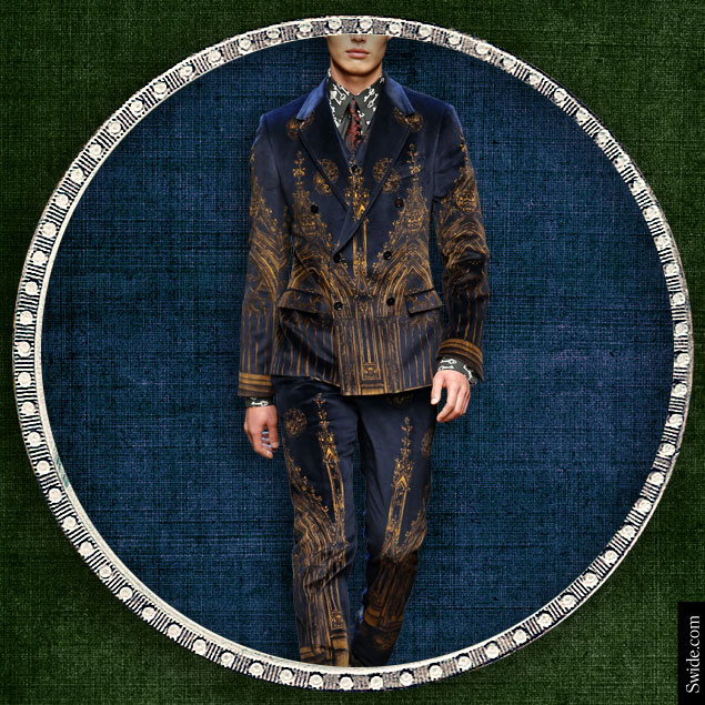 christmas-party-looks-ideas-for-2014-for-man-velvet-cathedral-print-suit