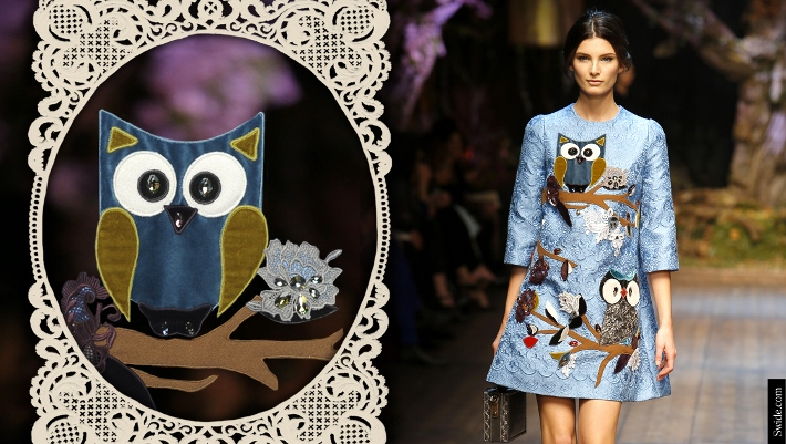 dolce-and-gabbana-fall-winter-2014-15-patchwork-owl-embroidered-dress (710x401)