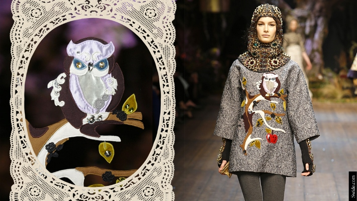dolce-and-gabbana-fall-winter-2014-15-patchwork-owl-embroidered-top (710x401)