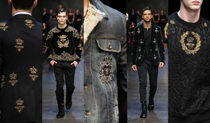 dolce-and-gabbana-fall-winter-2015-2016-men-fashion-show-review-and-inspiration-embroidery