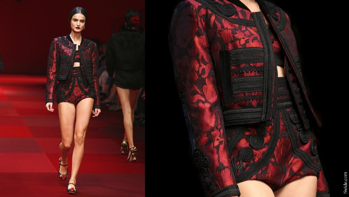 Dolce-and-Gabbana-matador-outfits-Spring-Summer-2015-red-brocade-bolero (710x401)