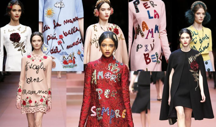 dolce-and-gabbana-fall-winter-2015-2016-women-fashion-show-review-and-inspiration-slogans