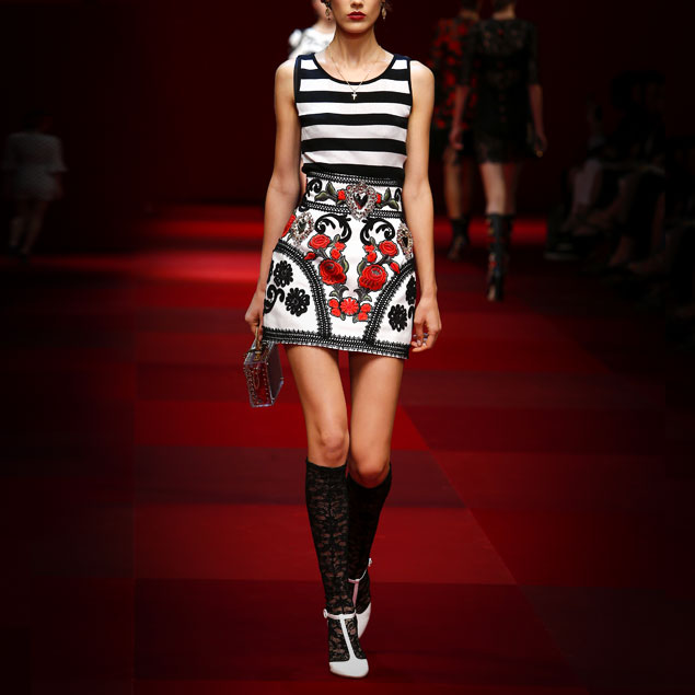 Spring-Summer-2015-fashion-trends-Dolce-and-Gabbana-passementerie-sacred-heart-skirt-gallery