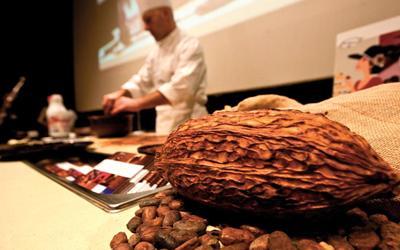 Eurochocolate 2012, кулинарное шоу