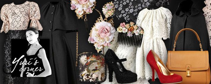 Dolce&Gabbana FW13, барокко на Хэллоуин