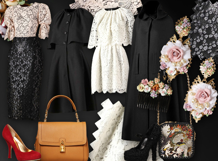 Dolce&Gabbana FW13, барокко для Хэллоуина