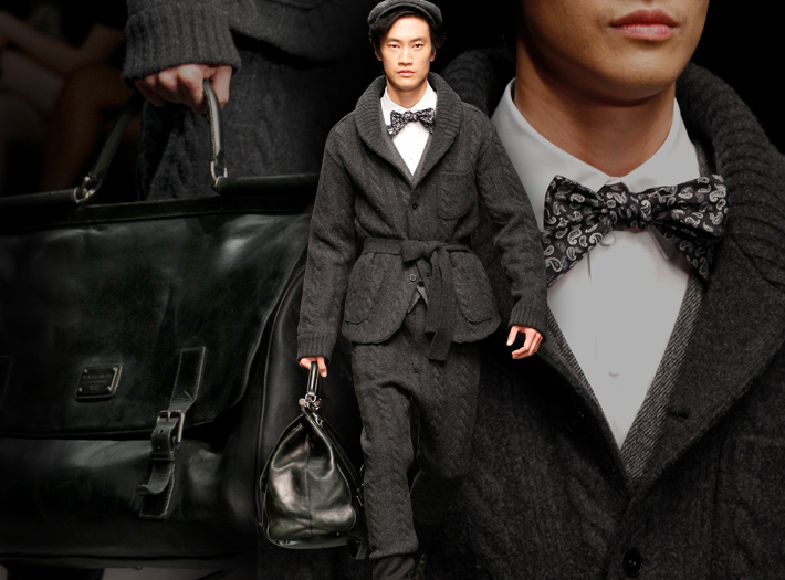 Мужская коллекция Dolce&Gabbana FW13, кардиган