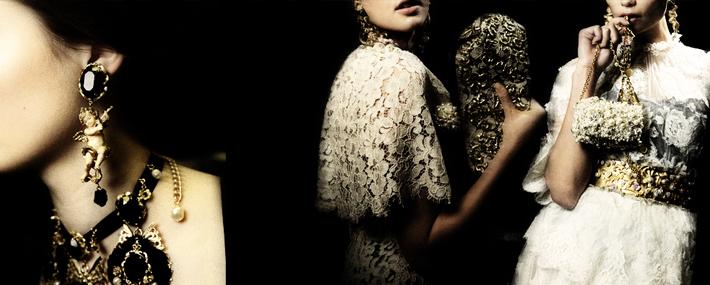 Барокко Dolce&Gabbana FW13