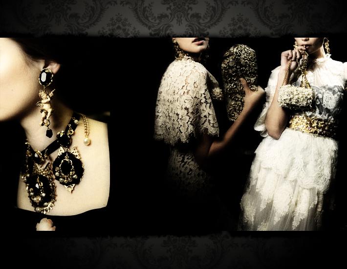 Dolce&Gabbana FW13, ювелирные украшения