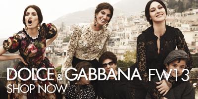 Online-бутик женской коллекции Dolce&Gabbana FW13