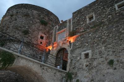 Арагонский замок, Пиццо Калабро