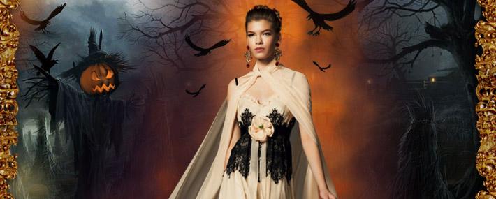 Dolce&Gabbana FW13: образы для Хэллоуина