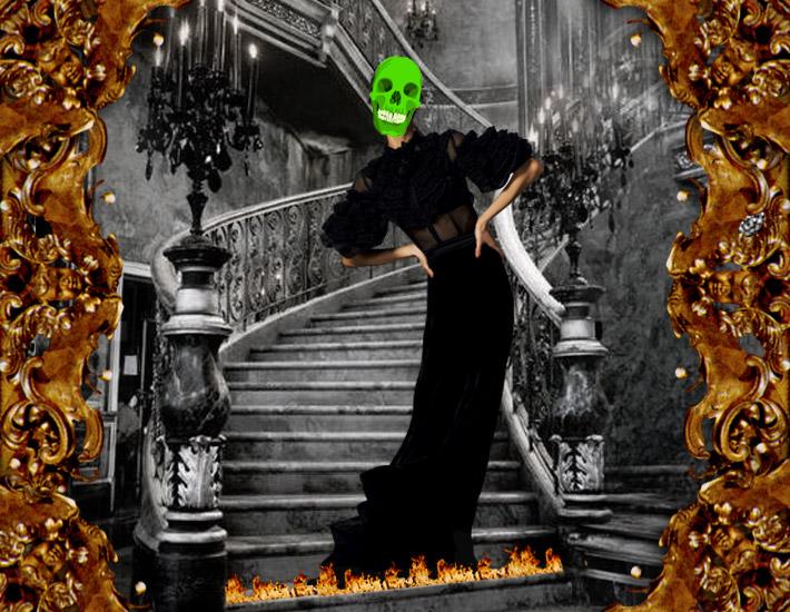 Dolce&Gabbana FW13: образы для Хэллоуина, ведьма