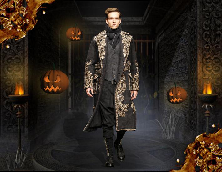 Dolce&Gabbana FW13: образы для Хэллоуина, колдун