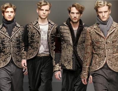 Dolce&Gabbana Осень/Зима 2013, пальто в стиле милитари