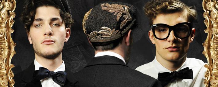 Мужская коллекция Dolce&Gabbana FW13, аксессуары