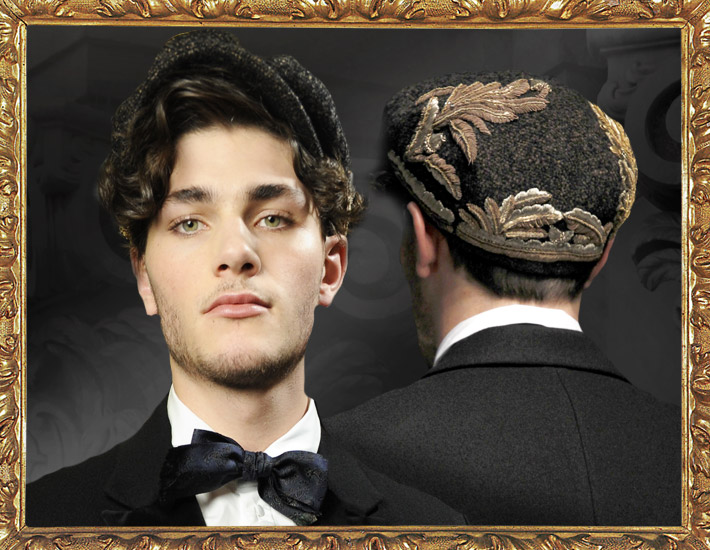 Мужская коллекция Dolce&Gabbana FW13, шляпы