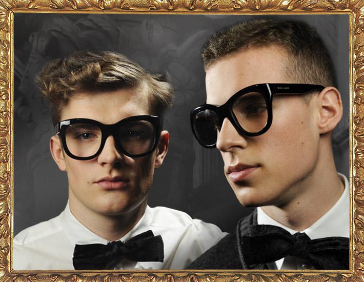 Мужская коллекция Dolce&Gabbana FW13, очки
