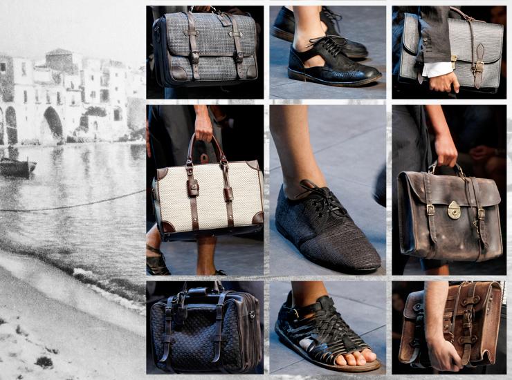 Показ мужской коллекции Dolce&Gabbana SS13 - Аксессуары