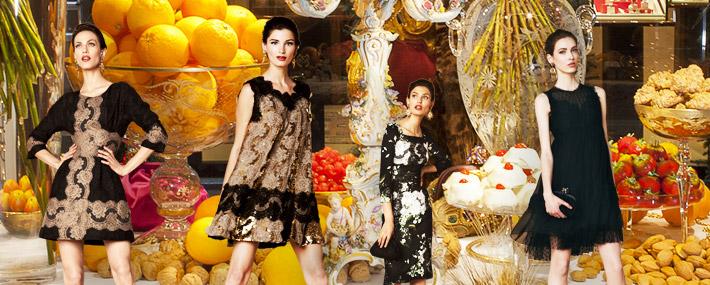 Dolce&Gabbana SS13, наряды на католическое Рождество