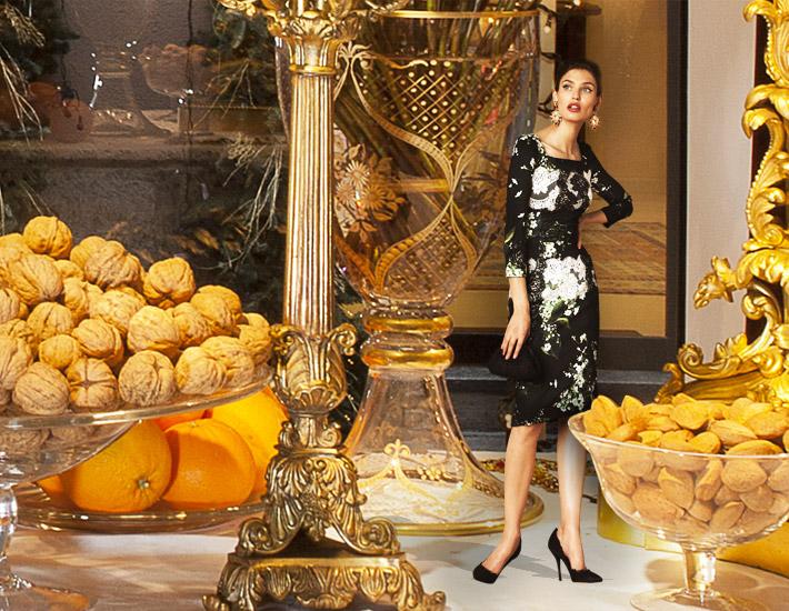 Dolce&Gabbana SS13, католическое Рождество