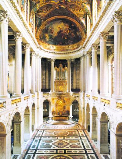 Рождество в Королевской часовне Версаля