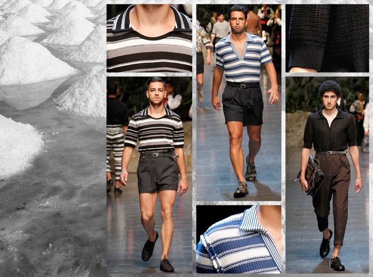 Показ мужской коллекции Dolce&Gabbana SS13 - Поло