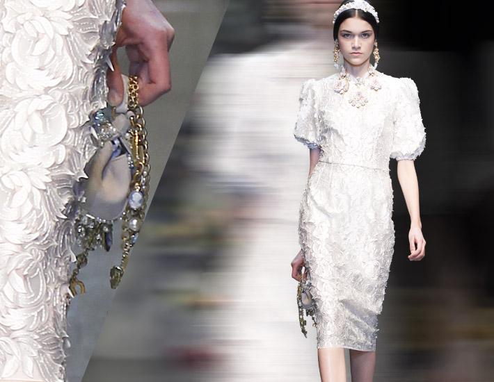 Dolce&Gabbana FW13 и инновационный технологии