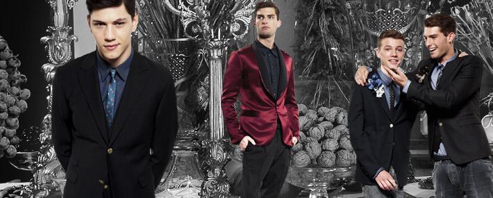 Мужская коллекция Dolce&Gabbana SS13 для рождественских вечеринок