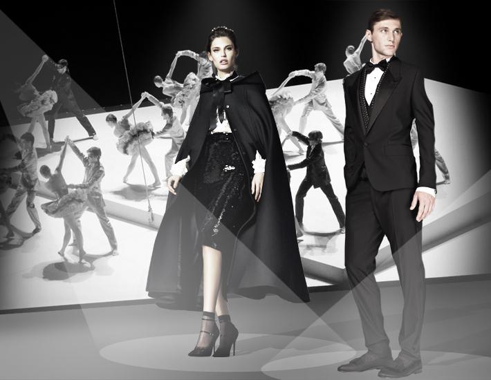 Вечерние наряды Dolce&Gabbana FW13 Baroque