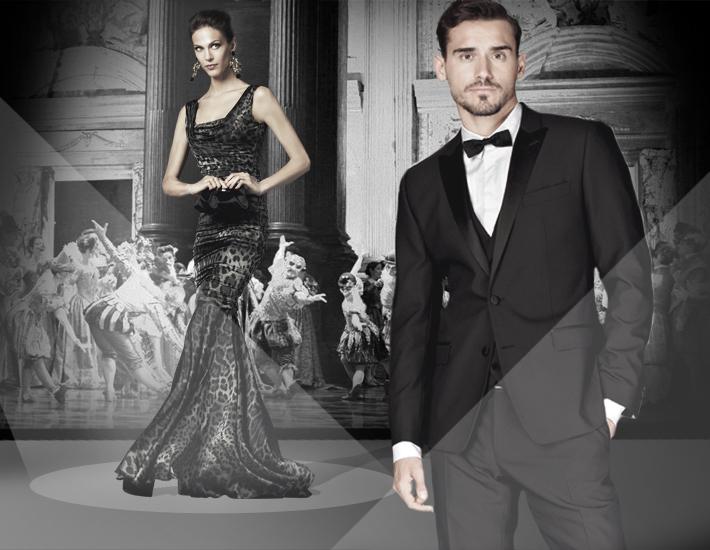 Вечерние наряды Dolce&Gabbana FW13 Baroque, леопардовый принт