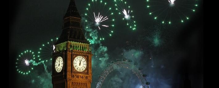 Новогодние вечеринки в Лондоне