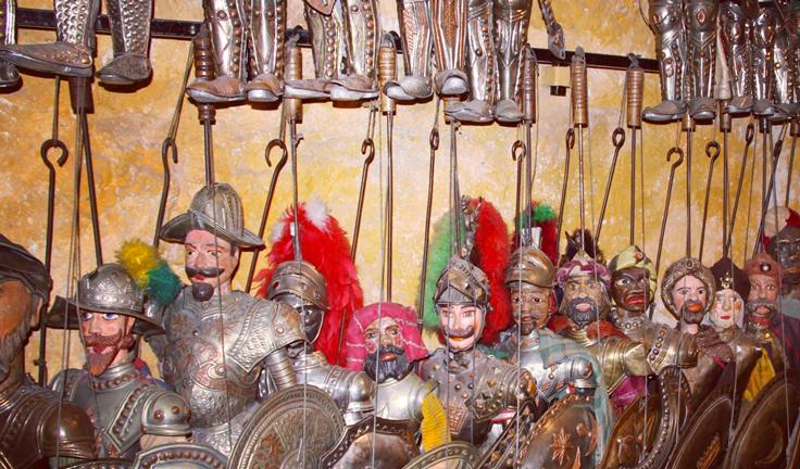Сицилийские марионетки - пупи