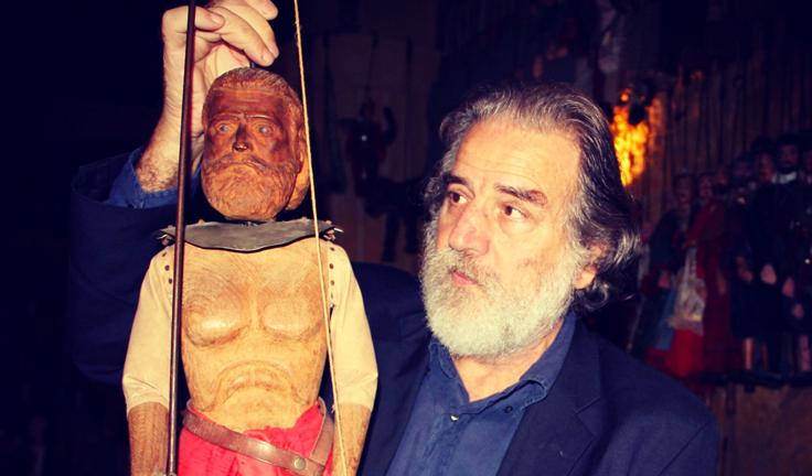 Сицилийские марионетки - пупи и кукольник
