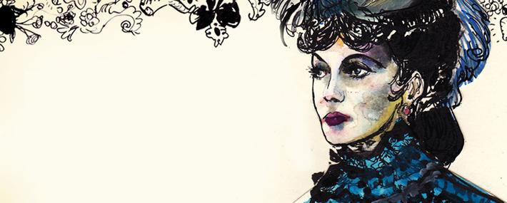 Анна Каренина в барочной коллекции Dolce&Gabbana FW13