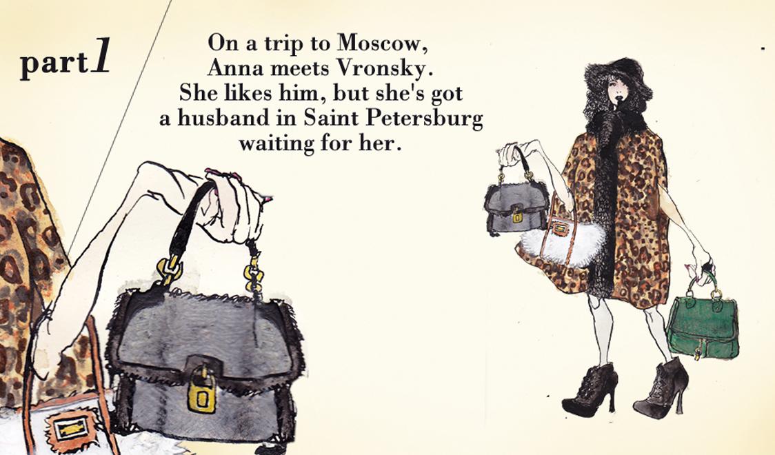 Часть первая. Во время поездки в Москву Анна встречает Вронского. Он ей нравится, но в Санкт-Петербурге ее ждет муж.