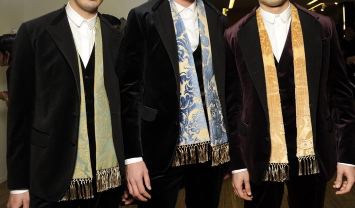 Детали показа Dolce&Gabbana FW14