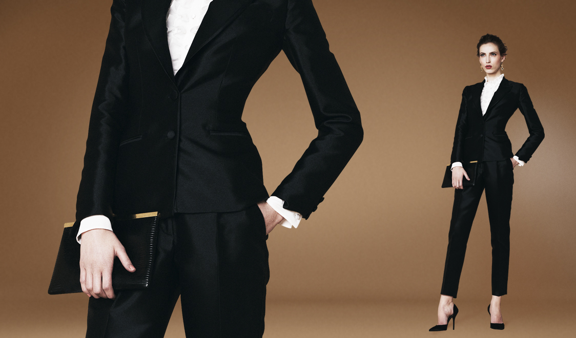 Двубортный смокинг Dolce&Gabbana SS13