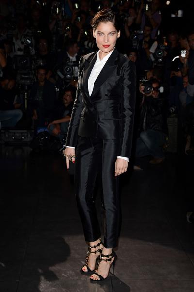 Летиция Каста на показе Dolce&Gabbana SS13