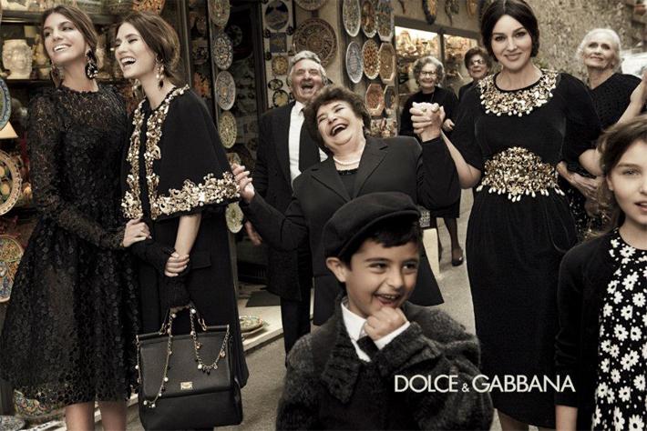 Рекламная кампания женской коллекции Dolce&Gabbana FW13 от Джампаоло Сгуры